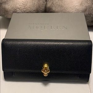 Alexander McQueen wallet with chain